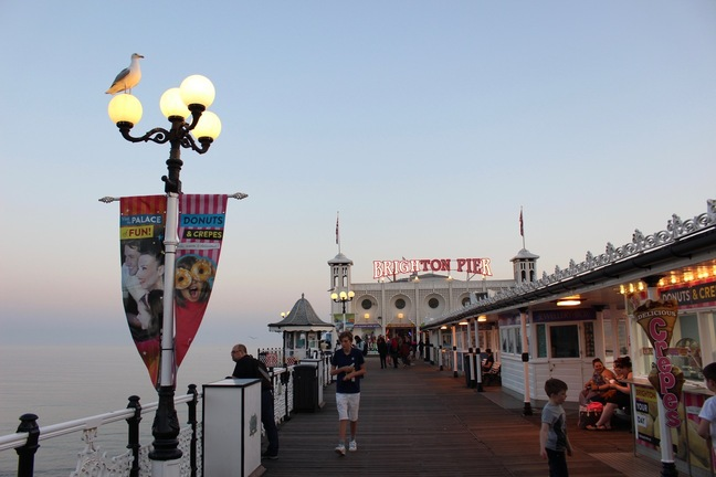 Take a walk on the pier side